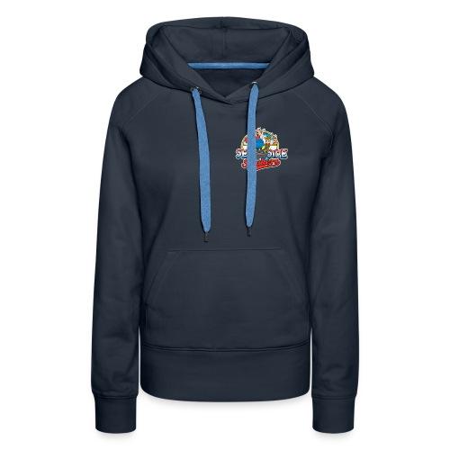 Only Blue when BBQ - Vrouwen Premium hoodie