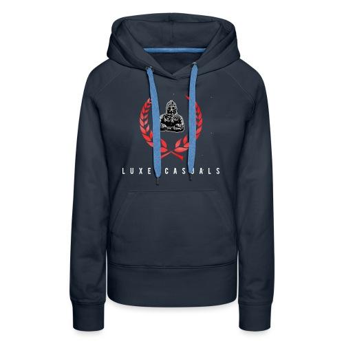 LuxeCasuals #2 Black - Vrouwen Premium hoodie