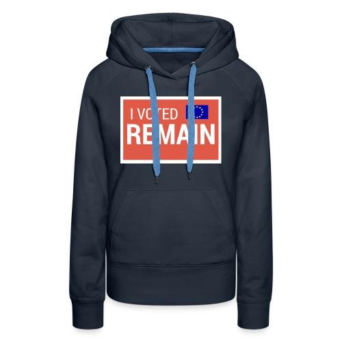 Remain - Women's Premium Hoodie