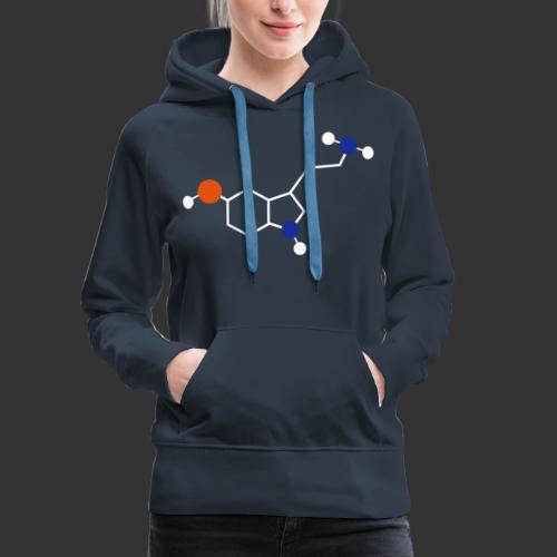 Serotonin - Sweat-shirt à capuche Premium pour femmes