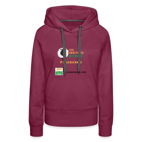 rituels - Sweat-shirt à capuche Premium pour femmes