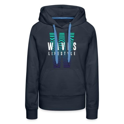 WAVES - Waves Lifestyle - Felpa con cappuccio premium da donna