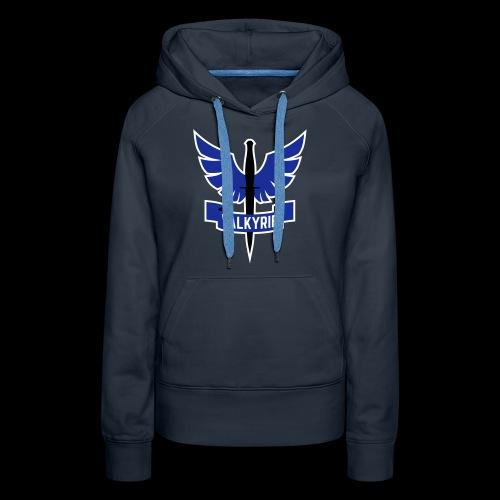 Blue Valkyrie Logo - Women's Premium Hoodie