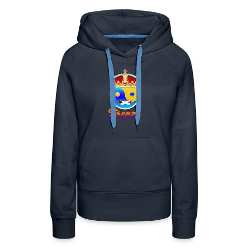 Frenzo crew - Vrouwen Premium hoodie
