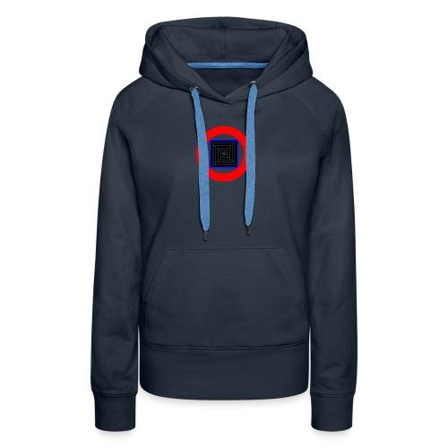 mosique' logo inverted - Women's Premium Hoodie