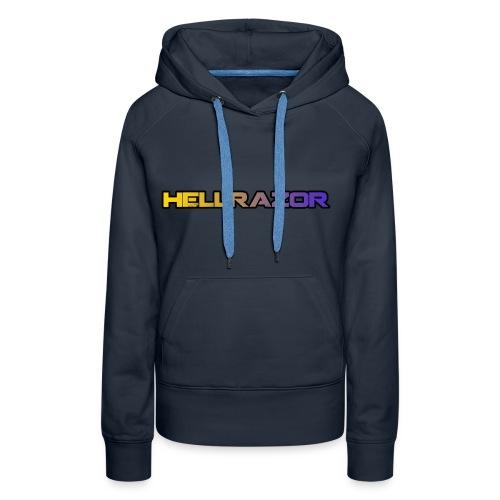 Hellrazor MK5 - Felpa con cappuccio premium da donna