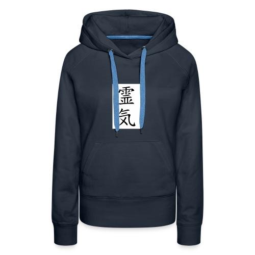 REIKI - Sweat-shirt à capuche Premium pour femmes