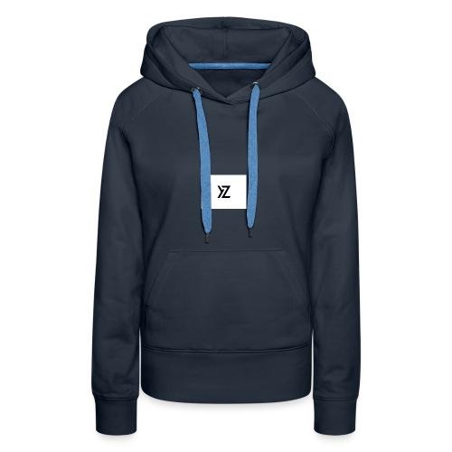 YZ T-shirt - Sweat-shirt à capuche Premium pour femmes