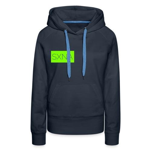 SXNA Boxed Green - Frauen Premium Hoodie