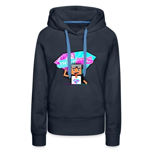 JHGAMES Nieuwe Logo 2 jaar bestaan van JHGAMES - Vrouwen Premium hoodie