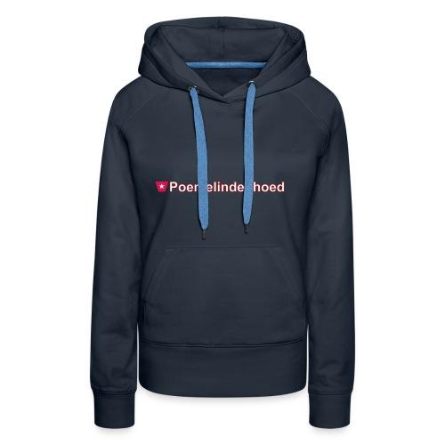 Poemelindenhoed ms hori def w - Vrouwen Premium hoodie