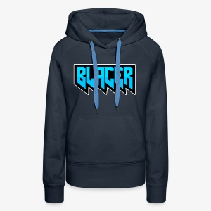 Official logo of Blacer eSport organization - Women's Premium Hoodie
