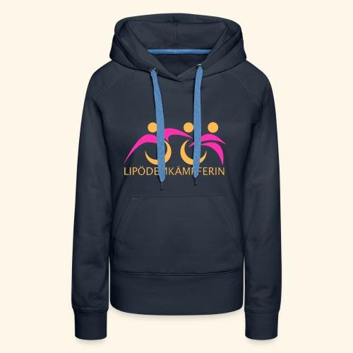 Logo Triathlon Geld - Frauen Premium Hoodie