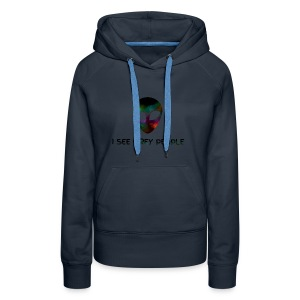 I SEE GREY PEOPLE - Women's Premium Hoodie
