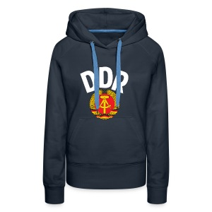 DDR - German Democratic Republic - Est Germany - Women's Premium Hoodie