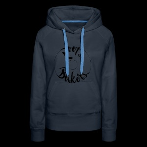 roots bakers - Sweat-shirt à capuche Premium pour femmes
