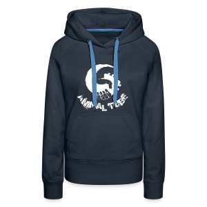 Animal Tube Hand White - Frauen Premium Hoodie