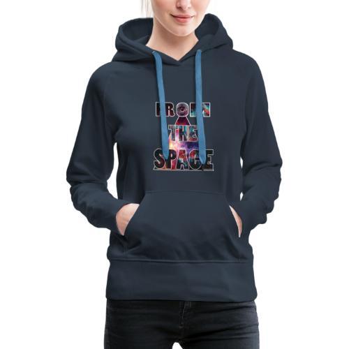 superpower - Sweat-shirt à capuche Premium pour femmes