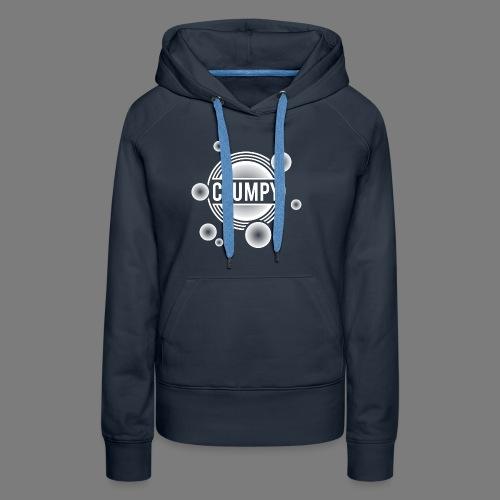 Clumpy halos white - Women's Premium Hoodie