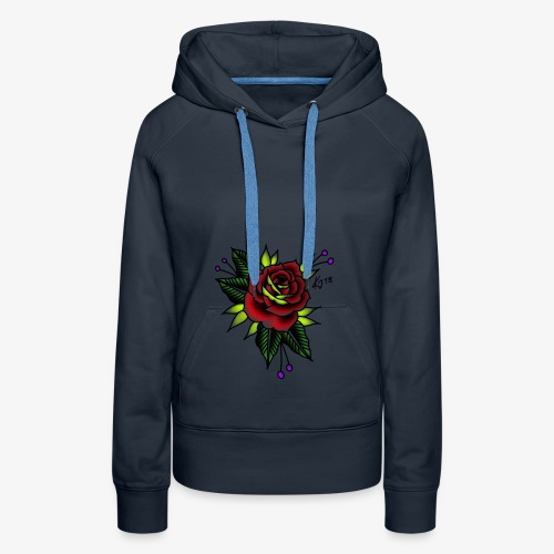 Traditional rose - Women's Premium Hoodie