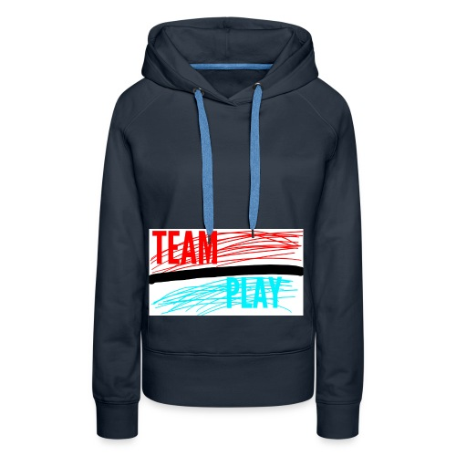 TEAM PLAY - Women's Premium Hoodie