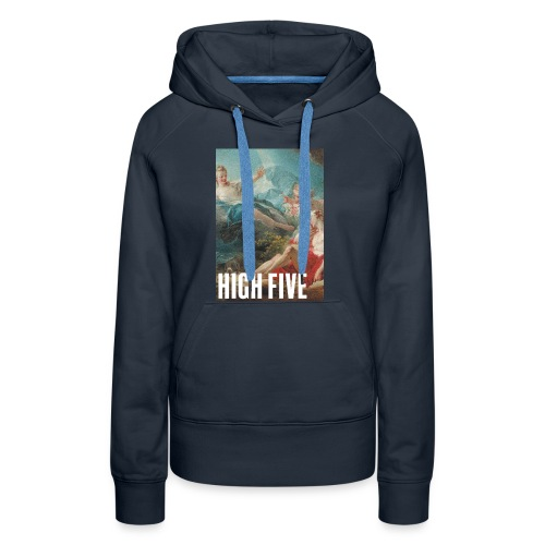 High Five - Sweat-shirt à capuche Premium pour femmes
