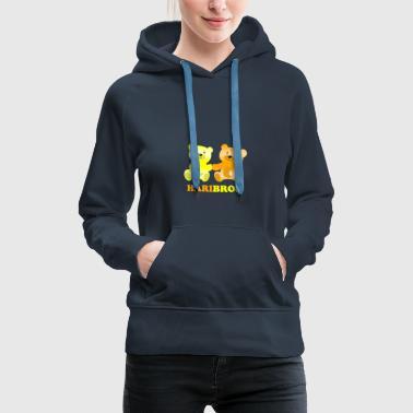 Haribros - Das Shirt für echte Bros - Frauen Premium Hoodie