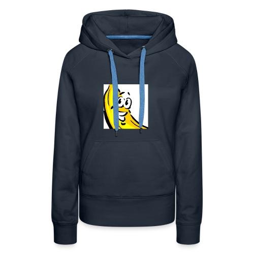 Bananenmannetjesshirt - Vrouwen Premium hoodie