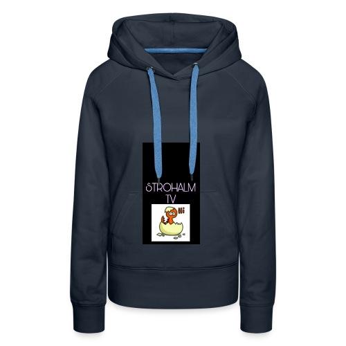 STROHALMTVLOGO - Frauen Premium Hoodie