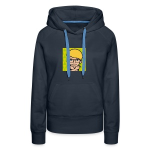 Me as a cartoon - Women's Premium Hoodie