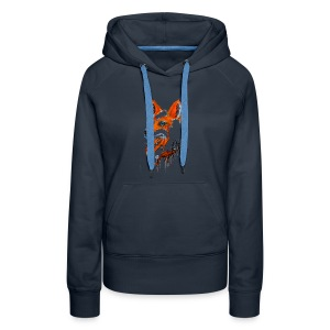 David Pucher Art Fuchs - Frauen Premium Hoodie
