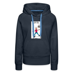BACK PARTY BUG COL - Women's Premium Hoodie