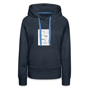 I LOVE MY HAIR - Women's Premium Hoodie