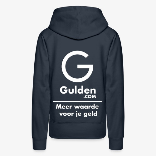 NLG - Gold Cryptocurrency - Early Adopter - Women's Premium Hoodie