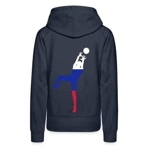 ► Basketball Deutschland Holland - ALLE Farben - Frauen Premium Hoodie