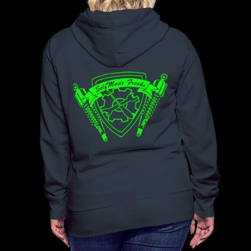 SlfMdFrks neon green - Frauen Premium Hoodie