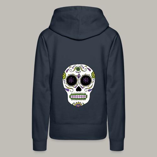 El dia de Los muertos - Sweat-shirt à capuche Premium pour femmes