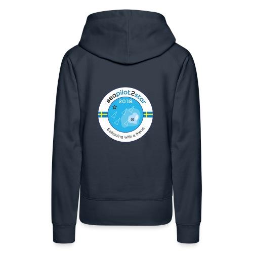 Seapilot2star 2018 logotyp - Premiumluvtröja dam