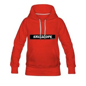 ERISSEDOPE - Sweat-shirt à capuche Premium pour femmes