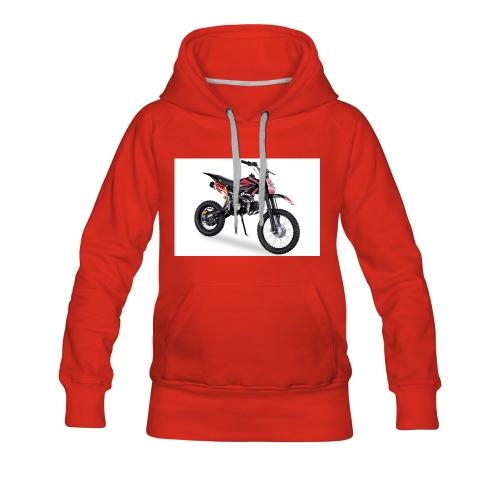Crossbike JC125 cc Schwarz 48422D31323 - Frauen Premium Hoodie