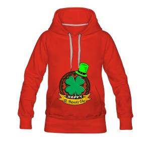 Happy St. Patrick's Day gift for Irish people - Frauen Premium Hoodie