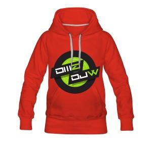 DJ DMZ & DJW Official Merch. - Vrouwen Premium hoodie