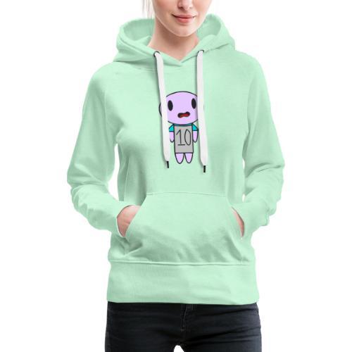 ahhhh ten on a t-shirt - Women's Premium Hoodie