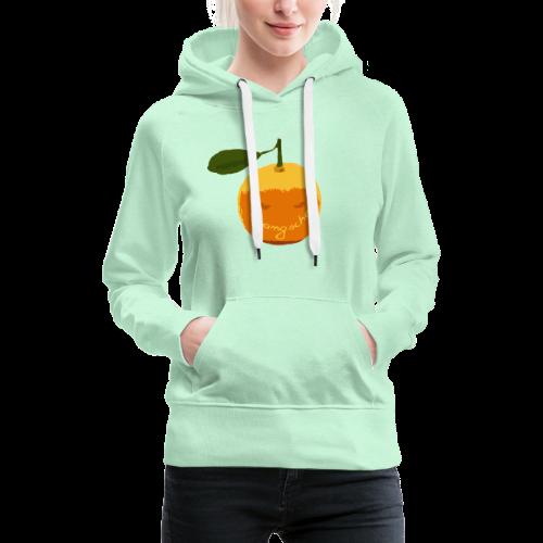 Orangsche - Frauen Premium Hoodie