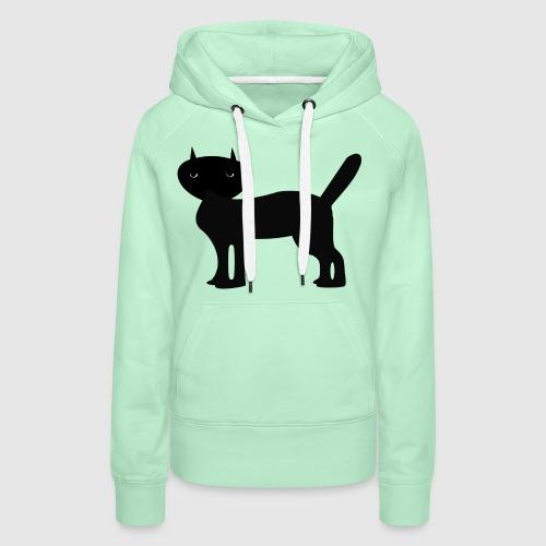 Janus Black Cat - Frauen Premium Hoodie