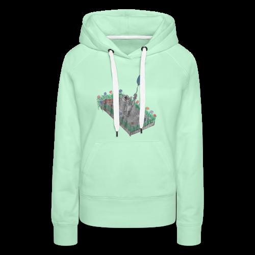 robotandflowers - Frauen Premium Hoodie