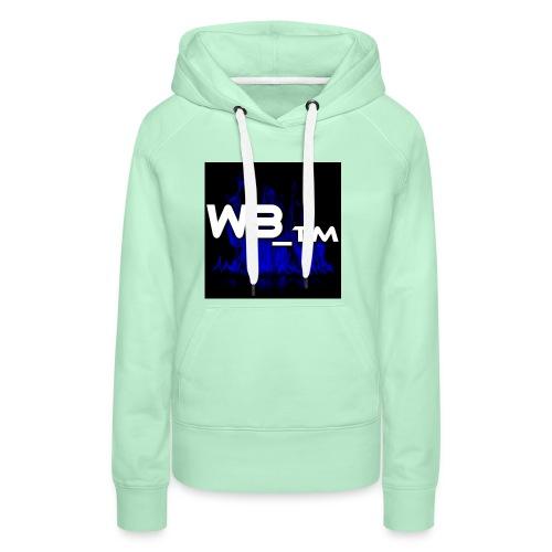 WB TM LOGO - Women's Premium Hoodie