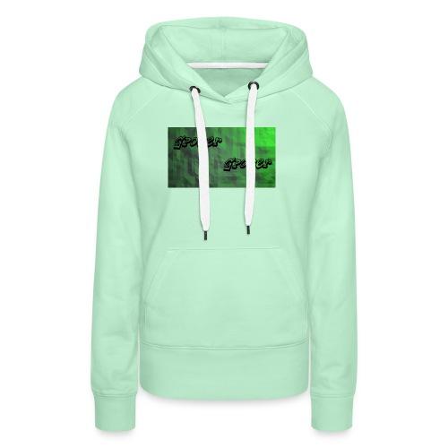 t-shirt met gpower - Vrouwen Premium hoodie