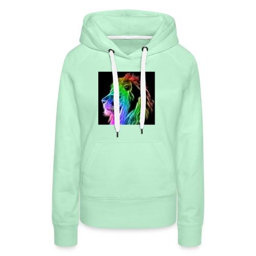 Sodrop lion - Vrouwen Premium hoodie