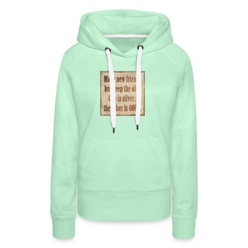 T-Shirt - Frauen Premium Hoodie